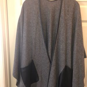 Ann Taylor Grey cape